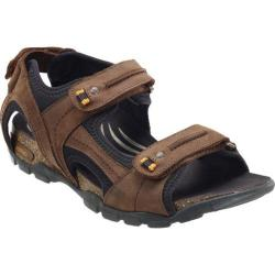 Men's Aetrex Largo Brown Leather