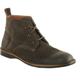 Men's Andrew Marc Dorchester Chukka Oxide/Black/Deep Natural Suede