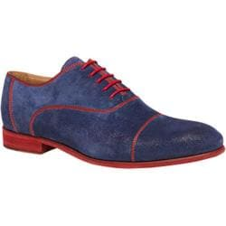 Men's Bacco Bucci Orsino Blue Suede