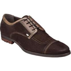 Men's Bacco Bucci Valle Dark Brown Suede/Calf