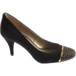 Women's Bandolino Chasity Black/Black Suede