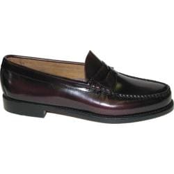 Men's Bass Larson Burgundy Brush Off Leather