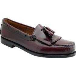 Men's Bass Layton Burgundy Brush Off Leather