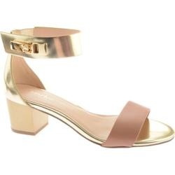 Women's Charles by Charles David Glory Blush/Gold Leather