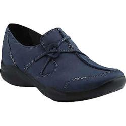 Women's Clarks Wave.Run Navy Nubuck