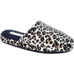 Women's Daniel Green Addie Cheetah Terry Cloth