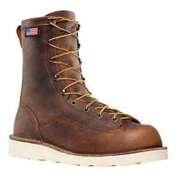 Men's Danner Bull Run 8in Cristy Brown Full Grain Leather