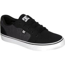 Men's DC Shoes Anvil TX Black Pinstripe