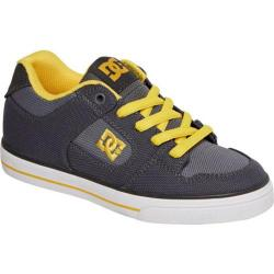Children's DC Shoes Pure TX Grey/Yellow