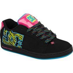 Women's DC Shoes Raif SE Black/Soft Lime Print