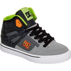 Children's DC Shoes Spartan High SE Black/Green Print