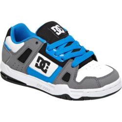 Boys' DC Shoes Stag Grey/Blue