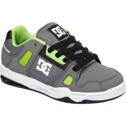 Boys' DC Shoes Stag Grey/Lime Green