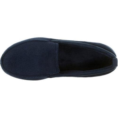 Men's Dearfoams Terry Moc Peacoat