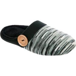 Women's Dearfoams Sweater Knit Clog Black