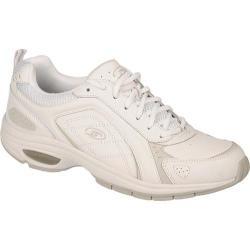 Men's Dr. Scholl's Sprint Lace White Leather