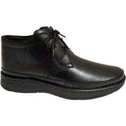 Men's Drew Keith Black Leather