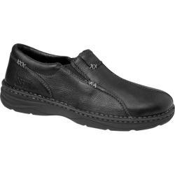 Men's Drew Max Black Tumbled Leather