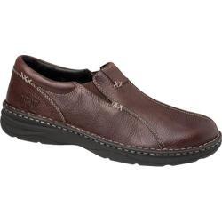 Men's Drew Max Brown Tumbled Leather