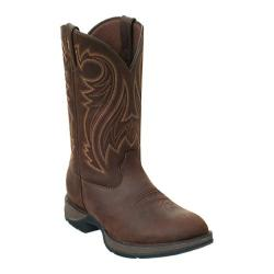 Men's Durango Boot DB5464 12in Rebel Chocolate Wyoming