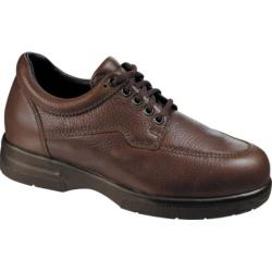 Men's Drew Walker II Brown Pebbled Leather