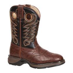 Boys' Durango Boot BT200 8in Rebel Chestnut/Black