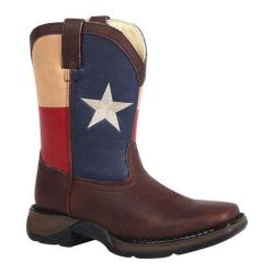 Boys' Durango Boot BT246 8in Western Texas Flag
