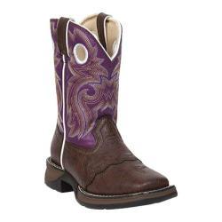 Children's Durango Boot BT386 Lil' Durango Dark Brown/Purple