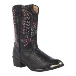 Boys' Durango Boot BT840/940 Black Lizard Print
