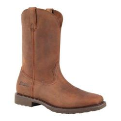 Men's Durango Boot DB004 11in Farm and Ranch Wellington Distressed Tan