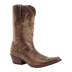 Men's Durango Boot DB012 12in Gambler Flying Guitar Brown