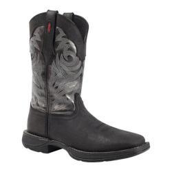 Men's Durango Boot DB014 12in Pull On Western Black/Grey