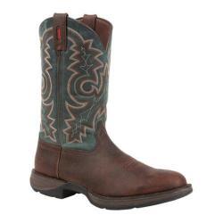 Men's Durango Boot DB017 12in Pull-On Western Brown/Teal