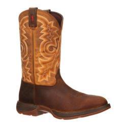 Men's Durango Boot DB018 12in Pull-On Western Tan/Goldenrod
