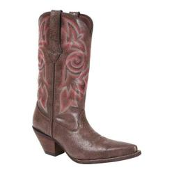 Women's Durango Boot DCRD011 12in Crackle & Chrome Crush Crackled Brown