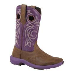 Women's Durango Boot RD024 10in Rebelicious Western Boot Chocolate Berry