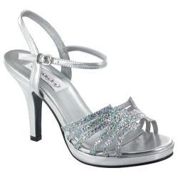 Women's Dyeables Leah Silver Glitter
