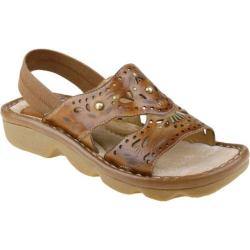 Women's Earth Promenade Sand Brown Full Grain Leather