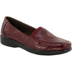 Women's Easy Street Gage Cranberry Patent Croco