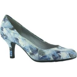 Women's Easy Street Passion Blue Feather