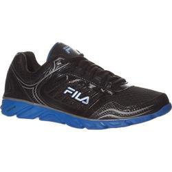 Men's Fila Memory Fresh 2 Black/Prince Blue/Metallic Silver