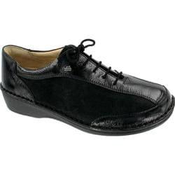 Finn Comfort Hanoi Soft Black Patent/Nubuck