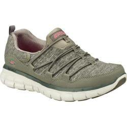 Women's Skechers Synergy Asset Play Gray/Coral