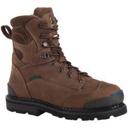 Men's Georgia Boot G013 8in Arctic Grip CT Coffee Full Grain Leather