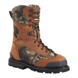 Men's Georgia Boot G019 10in Arctic Grip Insulated Crazy Horse Full Grain Leather/Realtree AP
