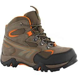 Boys' Hi-Tec Nepal WP Jr Brown/Taupe/Clementine