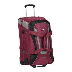 High Sierra AT7 26in Wheeled Duffel Boysenberry