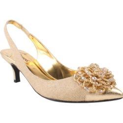 Women's J. Renee Estee Gold Metallic Fabric