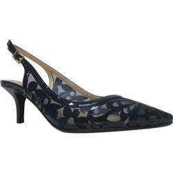 Women's J. Renee Genie Navy Synthetic