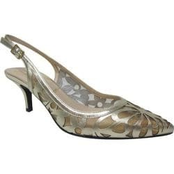 Women's J. Renee Genie Gold Leather